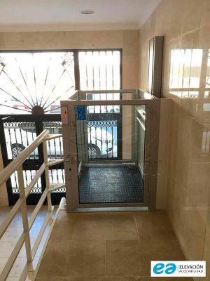 estructura autoportante elevador ascensor