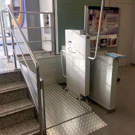 plataforma elevadora domostep para pequeñas alturas