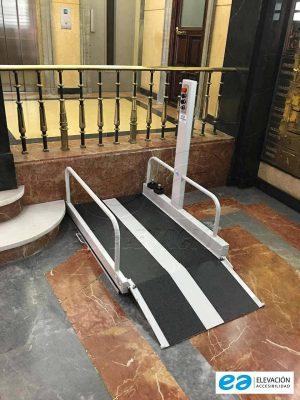 plataforma elevadora portátil